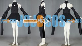 SOUL EATER Blair Black Dress Anime Cosplay Witch Costume w/ witch hat