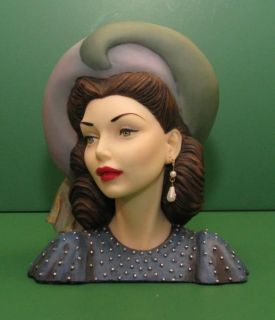 Cameo Girls Head Vase Judith Big Band Beauty 1948 2000 Edition United