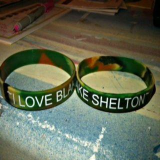 Blake Shelton Wristband