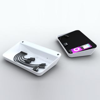 Bluelounge Design REFRESH Charging Station for iPhone iPod USB Devices