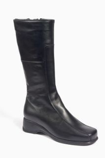 La Canadienne Blanche Womens Black Leather Boots