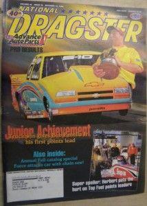 15 1999 National Dragster Bob Panella Jr Herbert John Force Gold Car