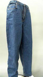 Bill Blass Jeans Plus 18 Stretch Stone Wash Straight Leg Denim Blue
