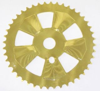 Gold Colored BMX Bicycle Chain Ring Bike Parts 290