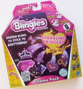 Blingles Sparkling Princess Theme Pack! Create Your Own Bling Designs