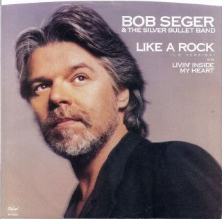 BOB SEGER * PICTURE SLEEVE ONLY 45 * 1986 * Factory NEW