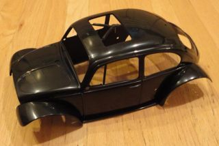 New Tamiya Blitzer Beetle Black hard plastic Body Shell only item