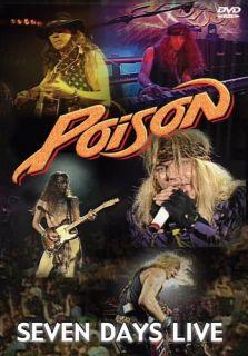 Poison Seven Days Live New SEALED DVD Bret Michaels