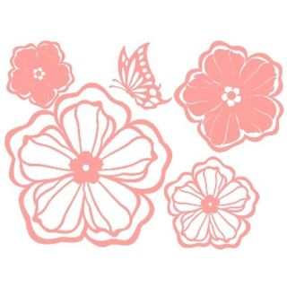 GP 29 Flower Blossom Vinyl Graphic Wall Decor Sticker