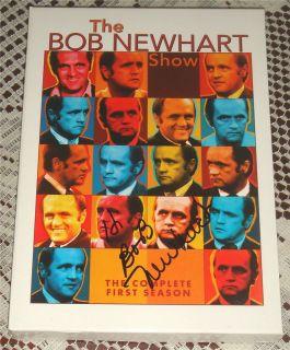 Bob Newhart Show Signed by Bob DVD Box Set Season 1 COA