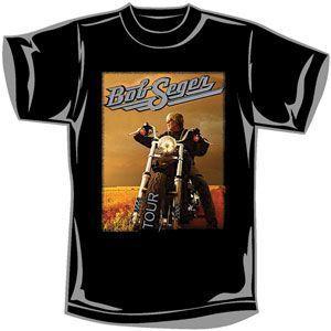 Bob Seger 2006 2007 Tour T Shirt