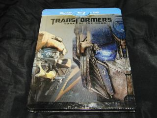 Transformers Dark of the Moon Blu Ray Steel Book Region Free