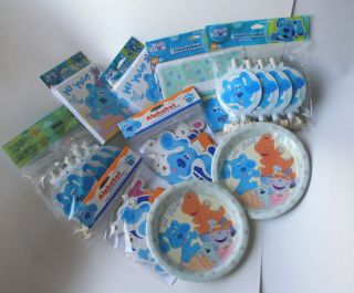 Blues Clues Birthday Party Supplies Hard to Find Items Select Items U