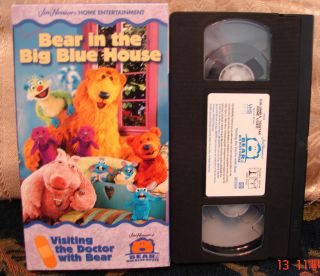 Big Blue House Visiting The Doctor Calms Kids Fears About VHS Video