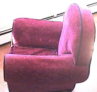 Blues Clues Upholstered Velvet Original Thinking Chair