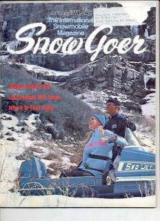 Goer Snowmobile Magazine Sno Jet Ski Doo Olympique Olympic Oly