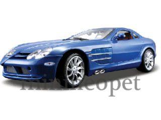 Maisto Mercedes Benz SLR McLaren 1 18 Diecast Blue
