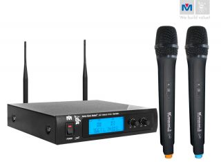 BMB Dual Channel UHF Wireless Microphone System VM 52U