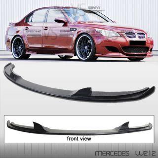 06 11 2006+ BMW E60 M5 ONLY BLACK URETHANE FRONT BUMPER LIP SPOILER