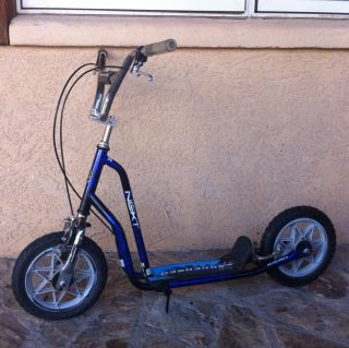 Next BMX Kick Scooter Vintage Style Freestyle Old School Trick Bike