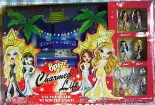 NEW Bratz Dolls Charmed Life Board GAME W Necklaces & Charms MGA