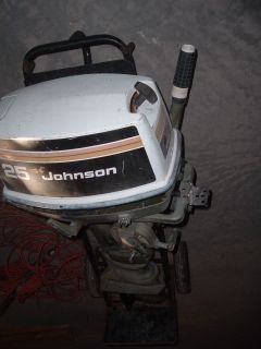 JOHNSON SEA HORSE OUTBOARD BOAT MOTOR Fishing Trailer Sports Boats Gas