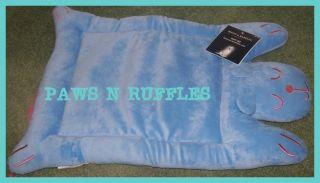 Cute Pink Blue Puppy Dog Pet Cat Bed or Crate Mat