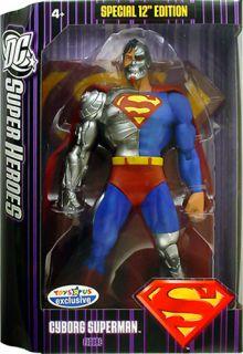 DC Superheroes Purple Box Cyborg Superman 12 Action Figure