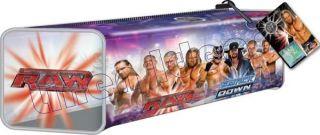 WWE Raw SmackDown Barrel Pencil Case School Stationary