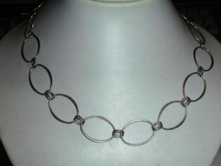Beauty Bold Sterling Link Necklace Robert Lee Morris