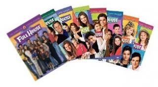 New Full House DVD 1 8 Season 1 2 3 4 5 6 7 & 8 Complete Series