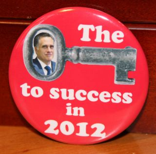 2012 ROMNEY RYAN president political campaign button pin pinback