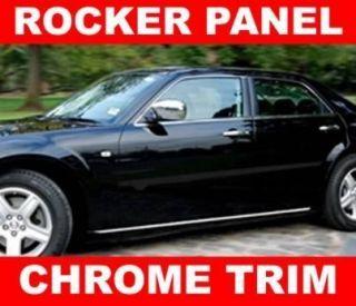 Kia RONDO BORREGO SOUL Chrome Rocker Panel Trim