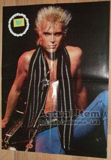 Poster Rikki Rockett Bret Michaels Bobby Dall Billy Idol LK9