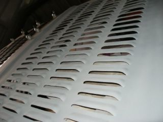 Huge Pair of Louvered Hood Panels Rat Rod 192 Louvers