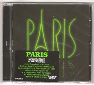Paris s T Bob Welch Fleetwood Mac Jehtro Tull Rock Candy 2012 New