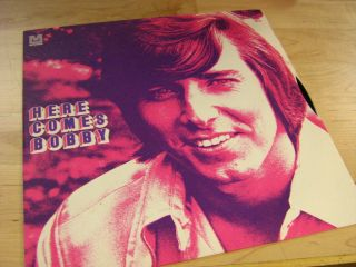 Bobby Sherman Here Comes Bobby LP Pop Teen Idol 60s WLP Fold Out