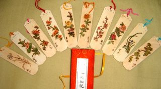 Live Bookmarks Handmade Bookmark Wood Fame Ten Scenery