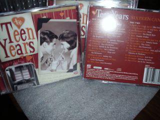 Sixteen Candles Time Life 2 Disc Set CD NEW 29 Beach Boys Bobby Vee