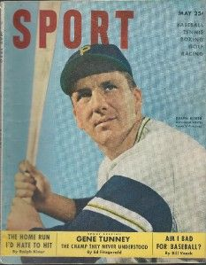 1950 ralph kiner hof sport magazine