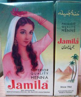 Jamila Henna Powder 100g Body Art Tattoo Design USA