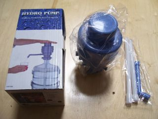 HYDRO PUMP Manual Hand Pump For Bottled Water Brand New in Box
