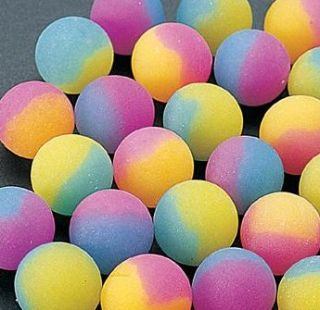 48 ICY TWO TONE SUPER BOUNCING BALLS BIRTHDAY BOYS party favors