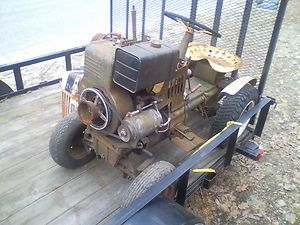 196 Bolens Tube Frame 600 Lawn Garden Riding Mower Tractor