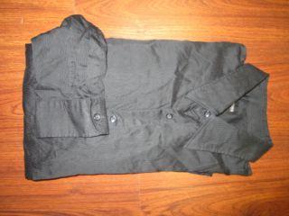 Boss Hugo Boss Black Sz L  Zigzag Longsleeve Button Shirt