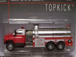 Boley HO Scale 1 87 GMC Fire Pumper Tanker Truck