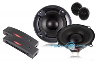 Boston Acoustics SX50 5 1 4 400W Max 2 Way Component Car Audio