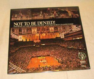 Not To Be Denied Boston Celtics NBA 1984 Championship LP 33 1 3 Record