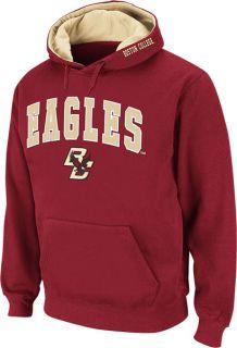 Boston College Eagles Maroon Twill Tailgate Hooded Sweatshirt