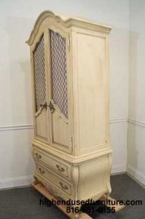 ... WHITE FURNITURE (Hickory White) 37 French Provincial Bombay Armoire ...